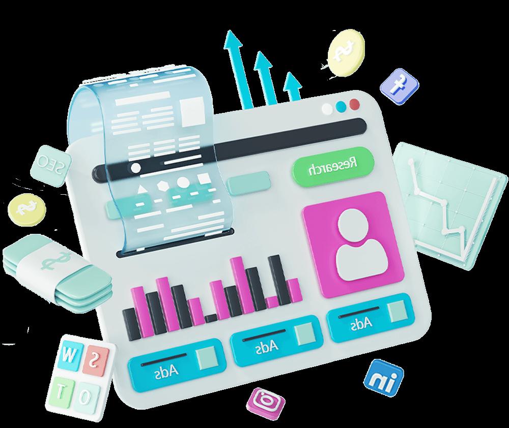 ecommerce-strategy-3d-illustrations